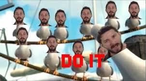 Finding Nemo Seagulls Meme - finding nemo shia labeouf edition youtube