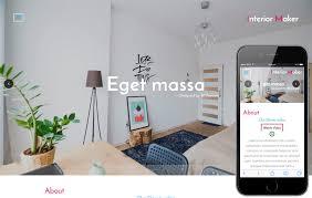 interior furniture designs mobile website templates