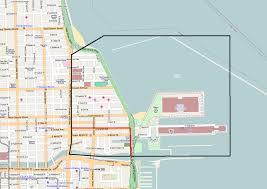 Chicago Attraction Map by Streeterville Wikipedia