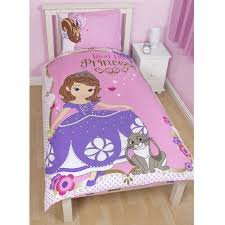 Sofia Bedding Set Disney Sofia The Bedding Single Junior Duvet Cover