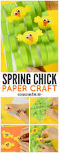 spring paper craft easter craft ideas easy peasy and fun