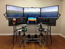 Flight Sim Desk Flight Simulator Desk Desk Design Ideas