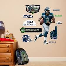 Seattle Seahawks Toaster Seahawks Russell Wilson Wall Decals By Fathead Jr