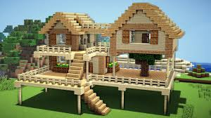 minecraft survival house tutorial how to build a house in