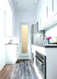 comment am駭ager une cuisine en longueur comment amenager une cuisine en longueur comment concevoir sa