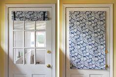 Curtains For Front Door Window Back Door Front Door Curtain Custom Made My Shop Pinterest