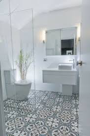 10 beyond stylish bathrooms with patterned encaustic tile white