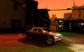 bentley arnage r bentley arnage r 2005 for gta san andreas