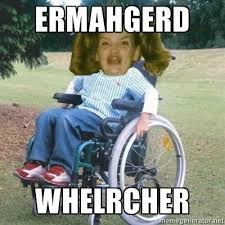 Wheelchair Meme - fancy wheelchair meme the ultimate meme gallery ermahgerd 1 80