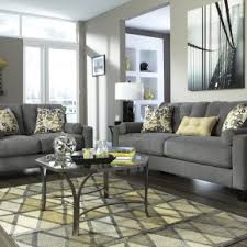 Two Seater Sofa Living Room Ideas Popular 2 Seater Fabric Charcoal Sofa With Cushions As Modern