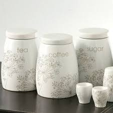 storage canisters for kitchen coffee tea and sugar canisters kitchen tea coffee sugar canisters