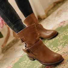 womens boots australia toe low heel flats combat mid calf martin ankle