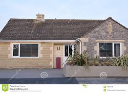 bungalow exterior royalty free stock image image 16009246