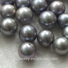 wholesale pearls necklace images Wholesale good luster 8 5 9 5mm original dyed grey pearl oyster jpg