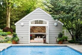 pool house with bathroom design tips for your pool house