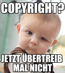 Meme Copyright - copyright sceptical baby meme on memegen