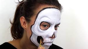 halloween advanced skull face paint tutorial snazaroo youtube