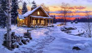 cool log cabins fantastic pictures winter log cabin wallpaper amazing winter log