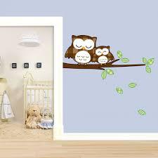 schlummereulen für kinder kinderzimmer deko wall art de