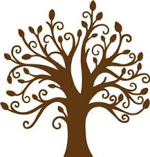 12 best arbre images on draw tree silhouette and