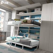 Space Saving Bed Bunk Desk Bed Wall Bed With Desk