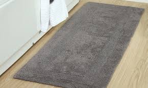 Reversible Bath Rugs Cotton 22 X66 Oversized Reversible Bath Rug Groupon