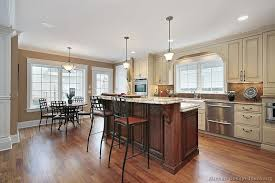kitchen idea of the day traditional two tone antique white and