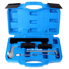engine timing belt driver camshaft locking alignment tool kit for