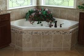 corner tub bathroom ideas tile a bathtub surround bathroom design tile bathtub surround