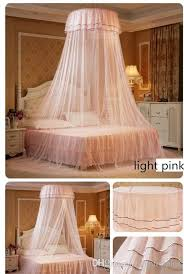 Lace Bed Canopy High Quality Luxury Hung Dome Mosquito Net Princess