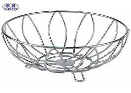 modern fruit holder grade modern fruit holder basket bowl stainless steel round shape