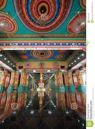 Decorated Ceiling Sri Mahamariamman Indian Temple Stock Images Image 33547124