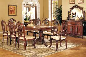 mahogany dining room set mahogany dining room table and 8 chairs formal and elegant dining