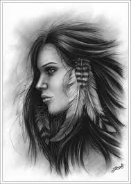 free coloring page coloring native indian american woman