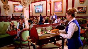 Be Our Guest Dining Rooms Step Inside Be Our Guest Restaurant Youtube