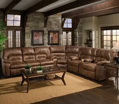 3 Piece Reclining Sectional Sofa by 596 3 Piece Reclining Sectional By Franklin Basement Ideas