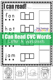 cvc worksheets cut and paste letter a u2013 only passionate curiosity