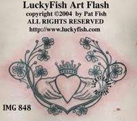 shamrock and clover tattoos u2013 luckyfish art