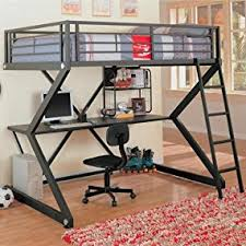 Bunk Bed Desk Coaster Loft Bed Size Work Station Kitchen Dining