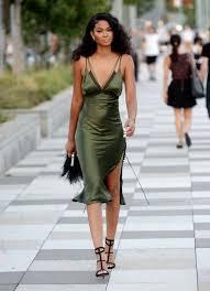 fashion u0027s latest trend silk slip dresses