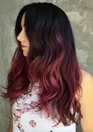 black hair to raspberry hair 100 badass red hair colors auburn cherry copper burgundy hair