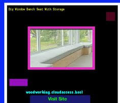 Woodworking Plans Bench Seat Plans Bench Seat With Storage Bay Window 161458 Woodworking