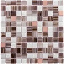 Peel  Stick Backsplash Glass Tile Bamboo Dark Peel  Stick - Peel and stick backsplash glass tiles