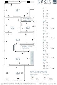 Art Gallery Floor Plan by Tacit Contemporary Art