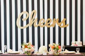 wedding backdrop letters showers photos black and white striped backdrop