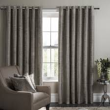 Charcoal Drapes Eyelet Curtains By 365 Curtains