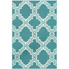 Area Rug Pattern Mainstays Brentwood Collection Drizzle Style Area Rug Teal