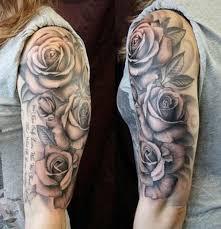 ilona floral black tattoos sleeve designs and
