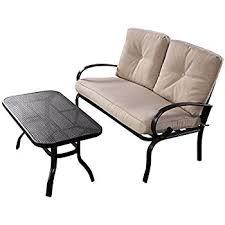 Mountain Outdoor Furniture - amazon com cloud mountain patio loveseat outdoor 2 pcs loveseat