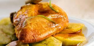 cuisiner banane plantain poulet à la banane plantain et à la cannelle facile et pas cher